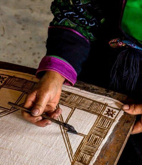 Textiles of Sapa – H'mong Batik and Folk Art